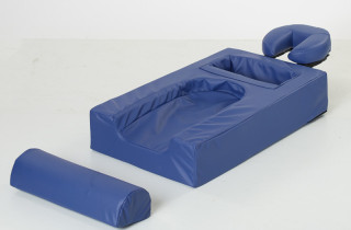 Face down sleep cushion