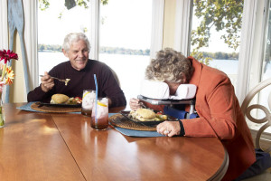 Enjoy meals with a loved one